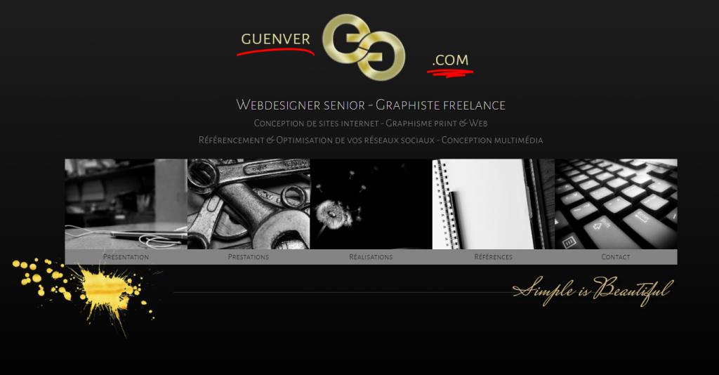 GUENVER.COM : Web Design - Graphisme - Référencement - Réseaux sociaux