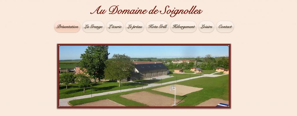 Domaine de Soignolles à Soignolles