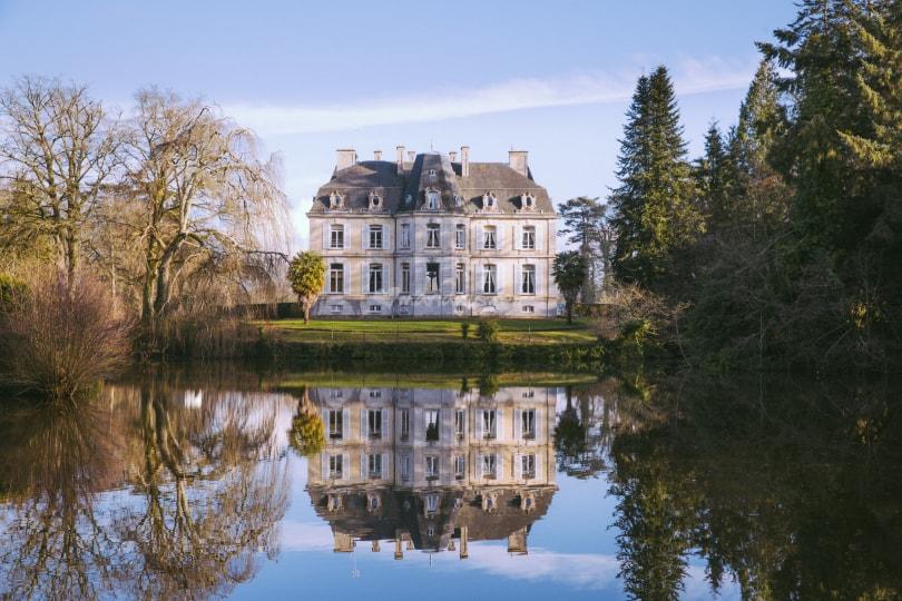 Château de Perron à Saint Aubin du Perron